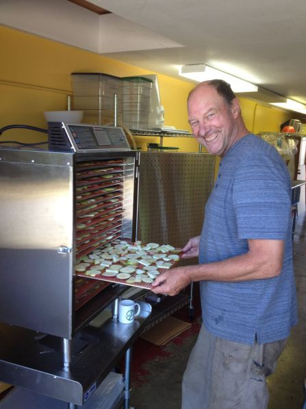 Food dehydrator donated by the Birkemeier family.